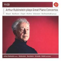 Arthur Rubinstein (Артур Рубинштейн): Arthur Rubinstein Plays Great Piano Conc