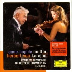 Anne-Sophie Mutter (Анне-Софи Муттер): Complete Recordings On DG 1978-1988