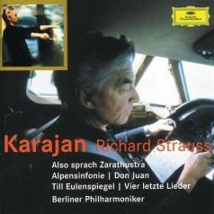 Herbert von Karajan (Герберт фон Караян): Strauss: Also sprach Zarathustra; Alpensinfonie; D