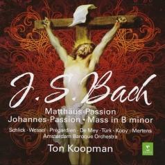 Ton Koopman (Тон Копман): St Matthew Passion, St John Passion, B Minor Mass