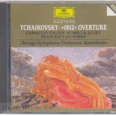 Daniel Barenboim (Даниэль Баренбойм): Tchaikovsky: 1812; Romeo And Juliet