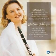 Sabine Meyer (СабинаМайер): Clarinet Concerto Etc.