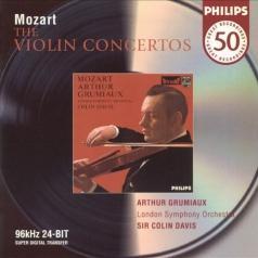 Arthur Grumiaux (АртурГрюмьо): Mozart: Violin Concertos
