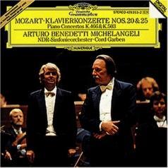 Arturo Benedetti Michelangeli (Артуро Бенедетти Микеланджели): Mozart: Piano Concertos KV 466 & KV 503