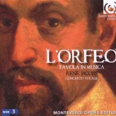 Monteverdi/L'Orfeo/Concerto Vocale/Rene Jacobs