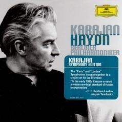 """Herbert von Karajan (Герберт фон Караян): Haydn: 6 """"Paris"""" & 12 """"London"""" Symphonies"""