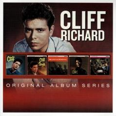 Cliff Richard (Клифф Ричард): Original Album Series (Cliff / Cliff Sings / Me And My Shadows / Listen To Cliff / 21 Today)