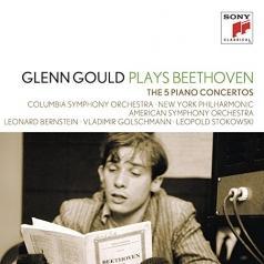 Glenn Gould (Гленн Гульд): Piano Concertos Nos. 1-5