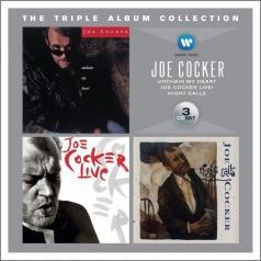 Joe Cocker (Джо Кокер): Triple Album Collection: Unchain My Heart / Joe Cocker Live! / Night Calls