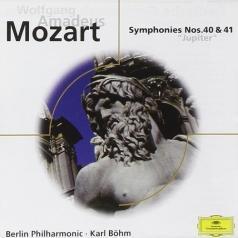 """Karl Boehm (Карл Бём): Mozart: Symphonies Nos. 40 & 41 """"Jupiter; Die Zaub"""