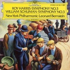 Leonard Bernstein (Леонард Бернстайн): Harris: Symphony No.3/ Schuman: Symphony No.3