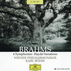 Karl Boehm (Карл Бём): Brahm: 4 Symphonies; HaydnVariations