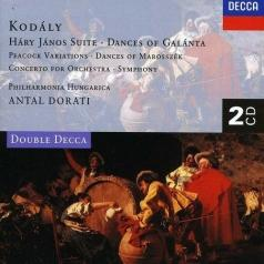 Philharmonia Hungarica: Kod?ly: H?ry J?nos Suite/Dances of Gal?nta/Peacock