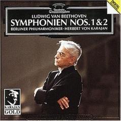 Herbert von Karajan (Герберт фон Караян): Beethoven: Symphonies Nos.1 & 2