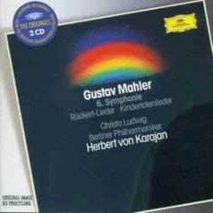 Herbert von Karajan (Герберт фон Караян): Mahler: Symphony No.6 in A minor; Ruckert-Lieder;