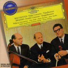 Ferenc Fricsay (Ференц Фричаи): Beethoven: Triple Concerto / Brahms: Double Concerto