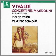Claudio Scimone (Клаудио Шимоне): Concerti Per Mandolini