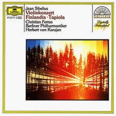 Herbert von Karajan (Герберт фон Караян): Sibelius: Violin Concerto; Finlandia; Tapiola