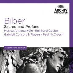 Reinhard Goebel (Рейнхард Гёбель): Biber Sacred And Profane