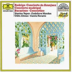 Odon Alonso (Одон Алонсо): Rodrigo: Concierto De Aranjuez; Concierto Madrigal