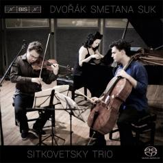 Sitkovetsky Trio (Ситковетский Трио): Piano Trio In F Minor Op 65; Smetana: Piano Trio In G Minor Op 15; Suk: Elegy For Piano Trio Op 23