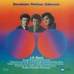 Itzhak Perlman (Ицхак Перлман): Violin Concertos - Itzhak Perlman, Pinchas Zukerman, Eco / Daniel Barenboim