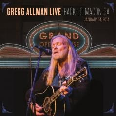 Gregg Allman (Грегг Оллман): Live: Back To Macon, GA