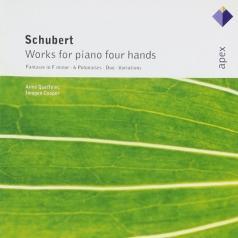 Anne Queffelec (Анн Кеффелек): Works For Piano Four Hands