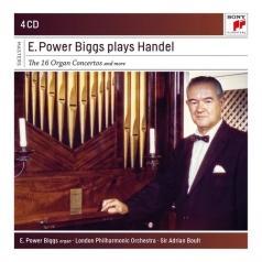 E. Power Biggs: E. Power Biggs Plays Handel - 16 Organ Concertos