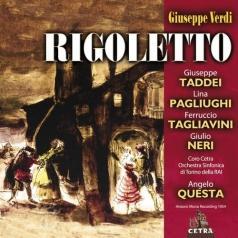 Angelo Questa (АнджелоКуэста): Cetra Verdi Collection: Rigoletto