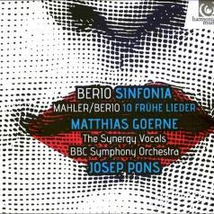 Berio: Sinfonia & Berio/Mahler: Fruhe Lieder/Matthias Goerne , Bbc Symphony Orchestra, Josep Pons