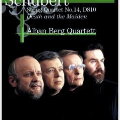 """Alban Berg Quartett (Квартет Альбана Берга): String Quartet """"Death & The Maiden"""""""