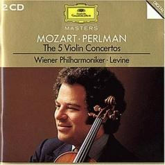 James Levine (Джеймс Ливайн): Mozart: The 5 Violin Concertos