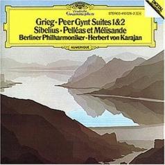 Herbert von Karajan (Герберт фон Караян): Grieg: Peer Gynt Suites / Sibelius: Pelleas et Mel