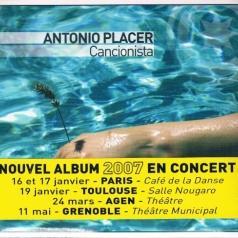 Antonio Placer (Антонио Плацер): Cancionista