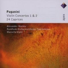 Александр Марков: Violin Concertos 1, 2 & 24 Caprices