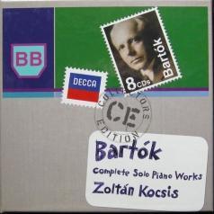 Zoltan Kocsis (Золтан Кочиш): Bartok: Complete Solo Piano Music
