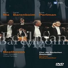 Itzhak Perlman (Ицхак Перлман): Triple Concerto/Choral Fantasy