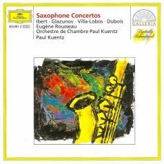 Eugene Rousseau (Евген Руссо): Ibert / Glazunov / Villa-Lobos / Dubois: Saxophone