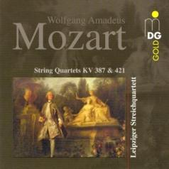 Leipzig String Quartet (Струнный Квартет Лейпциг): String Quartets KV 387 & 421