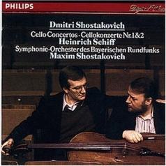 Heinrich Schiff (Генрих Шифф): Shostakovich: Cello Concertos Nos. 1 & 2