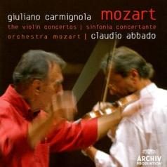 Claudio Abbado (Клаудио Аббадо): Mozart: The Violin Ctos; Sinfonia Concertante