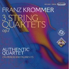 Authentic Quartet (Аутентичный квартет): Three String Quartets Op.7