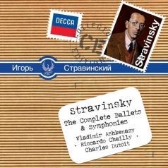 Vladimir Ashkenazy (Владимир Ашкенази): Stravinsky: Ballets & Symphonies