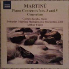 Bohuslav Martinů (Богуслав Мартину): Piano Concertos 1