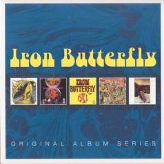 Iron Butterfly (Айрон Баттерфляй): Original Album Series (Heavy / In-A-Gadda-Da-Vida / Ball / Live / Metamorphosis)