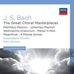 Peter Schreier (Петер Шрайер): Bach: Great Choral Masterpieces
