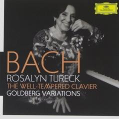 Rosalyn Tureck (Розалин Тюрек): Bach: The Well-Tempered Clavier; Goldberg Variations