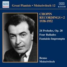 Benno Moiseiwitsch (Бенно Моисеевич): Moiseiwitsch: Chopin Recordings