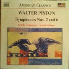 Walter Piston: Symphony No.2 & 6